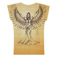 Caixa Egito . Camiseta . Ísis