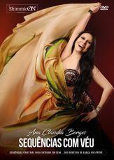 DVD. 32 . Sequências Com Véu . Sequências criativas para entrada em cena . Ana Claudia Borges