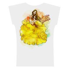 2017. Camiseta . Aquarela Amarelo
