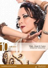 DVD. 10 . Tribal - Brasil & Fusion . Kilma Farias
