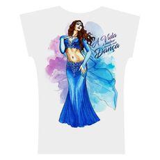 2017 . Camiseta . Aquarela Azul