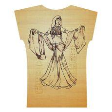 Caixa Egito . Camiseta . Hathor