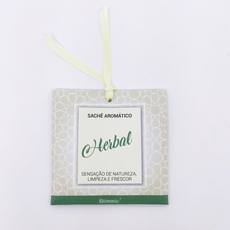 Caixa Sentidos . Sachê Aromático Personalizável . Herbal