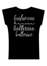 Camiseta . Bailarina