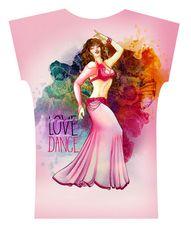 Camiseta . Aquarela Rose