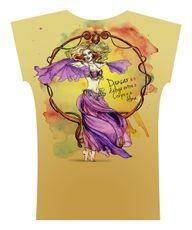 Camiseta . Aquarela Giro