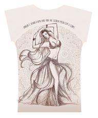 Camiseta . Aquarela Mandala