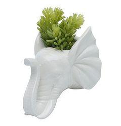 Cachepot de Cerâmica Elefante