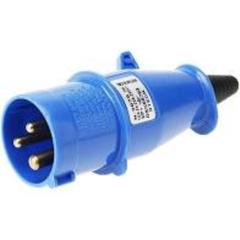 PLUG NEWKON 2P+T 16A 200/250V STECK