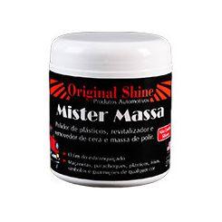 Mister Massa (Revitalizador de Plásticos) Original Shine - 60g