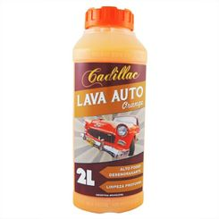 Cadillac Lava Auto Orange - Shampoo Desengraxante - 2L - 1:100