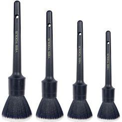 Yes Tools Pincel Premium para Detalhamento Automotivo - 4 peças