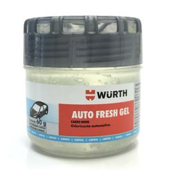Wurth Aromatizante Auto Fresh Gel - Carro Novo - 60g
