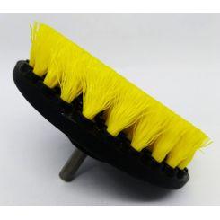 """Kers Escova de Limpeza Drill 5""""para Furadeira Agressiva Amarela"""