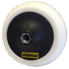 Kers Suporte para Boinas com Velcro Branco Flexível em EVA - Rosca 5/8 - 6 pol