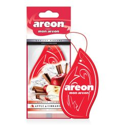 Areon Fresco - Aromatizante - Quality Perfume - Apple & Cinnamon (Maçã e Canela) -  folha  - 955508