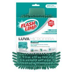 Flash Limp Luva de Lavagem Microfibra - Verde