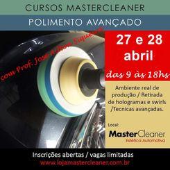 Curso MasterCleaner Polimento Avançado - 27 e 28 de Abril