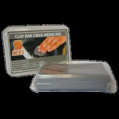 Kers Clay Bar Cinza- Barra de Descontaminação de Pintura - Média - 80g