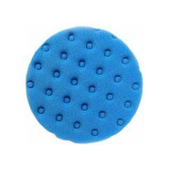 Kers Boina de Espuma Azul com Velcro - CCS - Média Agressiva para Refino - 6 Pol