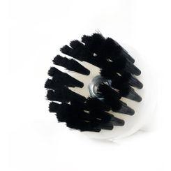 MasterCleaner Escova Higienização para Politriz ou Parafasudeira - Preta Macia - Rosca M14 - 85mm 3Pol