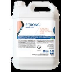 Perol Strong Detergente Ácido Diluição 1:40 - 5L