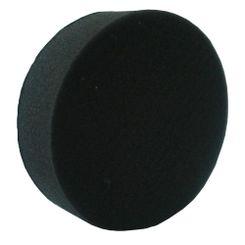 Mills Boina de Espuma Preta Lisa - Lustro - 85mm - (3'') - 1291