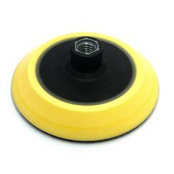 """Mills suporte para Boinas com Velcro em EVA Amarelo - Rosca 5/8 - 5"""""""
