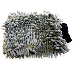 MasterCleaner Luva de Lavagem em Microfibra Wash Mitt - Dupla Face Cinza - (un)