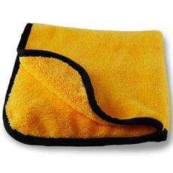 Detailer Pano de Microfibra Gold Plush  Amarelo(Cobra) 40cm x 40cm , 380g/m2