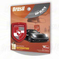 Escuderia do Brasil Aromatizante Vip Black (amadeirado sensual) - Folha- Folha