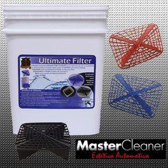 Ultimate Filter - Separador de Partículas com Balde - Vermelho