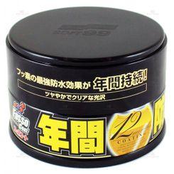 Soft99 Fusso Coat Selante Longa duração até 12 meses - Dark - Paste Wax - 200g