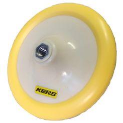 Kers Suporte com Velcro Borda Macia Amarelo - Rosca 5/8 - 6,5 Pol