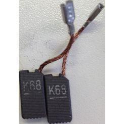 Flex Par de Carvão para Dual Action VRG 3401 - (par)