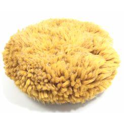 Mills Boina de Lã Amarela Macia Dupla Face - Corte - 8