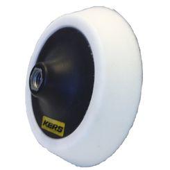 Kers Suporte para Boinas com Velcro Branco Flexível em EVA - Rosca 5/8 -  5 Pol