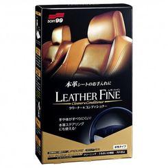 Soft99 - Leather Fine Cleaner e Conditioner - Hidratante Banco de Couro - 100ml