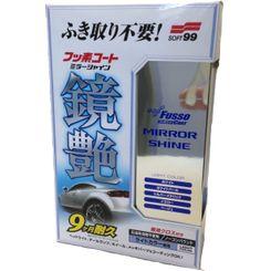 Soft 99 Fusso Mirror Shine Selante Sintético com Teflon para Cores Claras/Metálicas - 25
