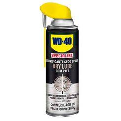 WD-40 Lubrificante Seco Spray - Dry Lube com Teflon - (400ml)