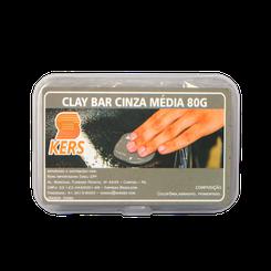 Kers Clay Bar Cinza Média - 80g