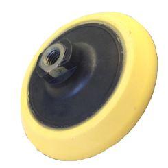 """Mills Suporte de Boinas com Velcro em EVA Amarelo - Rosca 14mm - 5""""(un)"""