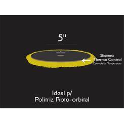 "Nobre Car Boina de Lã Detailer Gold - Corte Speed Polish® Thermo Soft® - Rotativa 6"""
