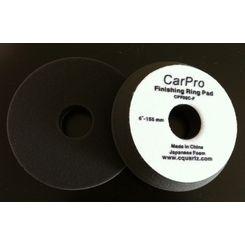 Cquartz Car Pro Boina de Espuma Preta Finishing Ring Pad - Lustro - 6