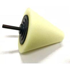 MasterCleaner Cone de Espuma Amarelo Polimento Rodas