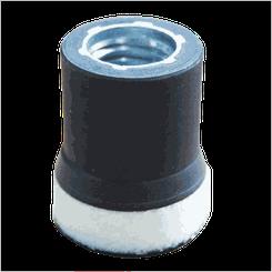 Kers suporte em EVA Branco com Velcro - 1.2 Pol (un)