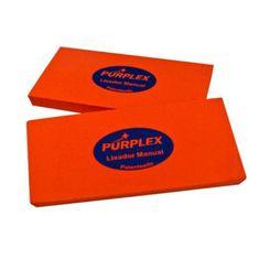 Purplex Taco Macio Para Lixas 1200 a 2500 (130 x 70mm) - 004 (2 unidades)