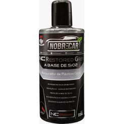 Nobre Car NC Restored Grey - Restaurador de Plásticos Cinza - 250ml