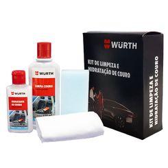 Wurth Kit Limpeza e Hidratação de Couro