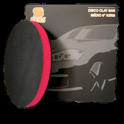 """Kers Clay Bar Suave Magico - Disco com Velcro de 6"""""""